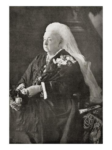 Queen Victoria Giclee Print