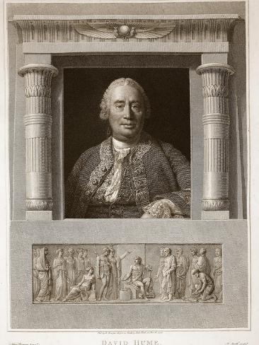 Portrait of David Hume Giclee Print