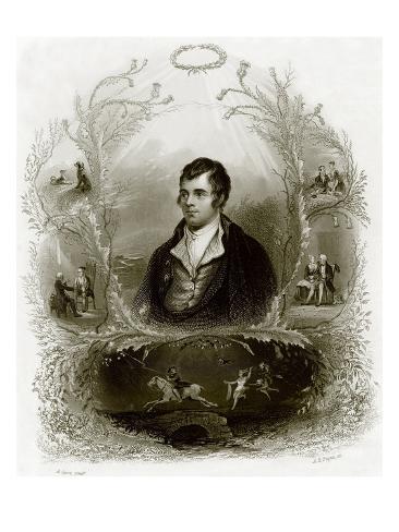 Robert Burns Giclee Print