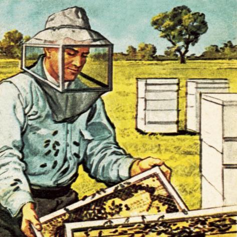 Bee Keeper Giclee Print
