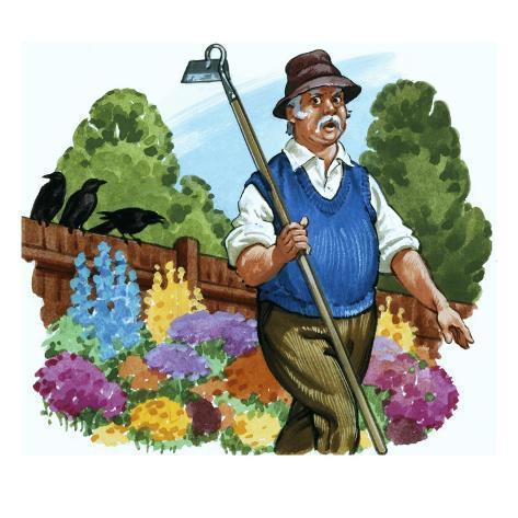 Gardener Impressão giclée