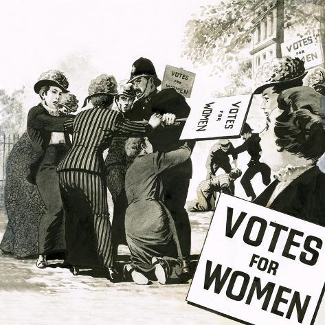 Votes for Women Giclee Print