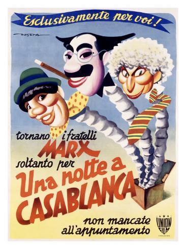 Una Notte a Casablanca Giclee Print