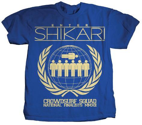 Enter Shikari - Crowdsurf Squad T-Shirt