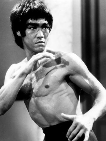 Enter the Dragon, Bruce Lee, 1973 Photo
