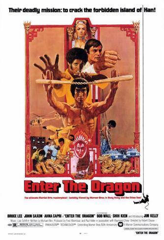 Enter the Dragon Poster
