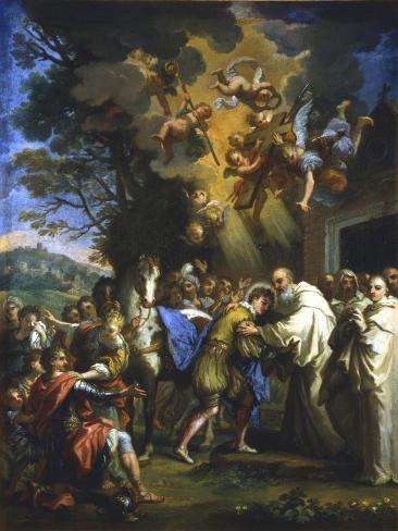 Entry of St Bernard into the City, C1630-1679 Lámina giclée