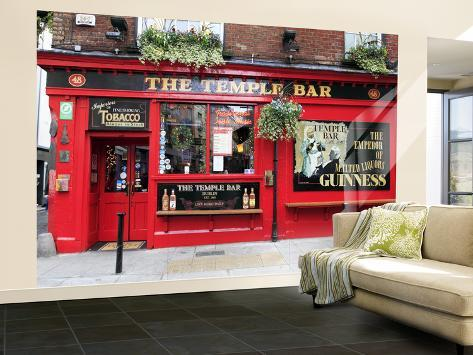 The Temple Bar Pub in Temple Bar Area Wall Mural – Large