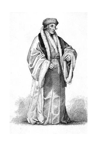 Erasmus, Priscott, Dyer Giclee Print