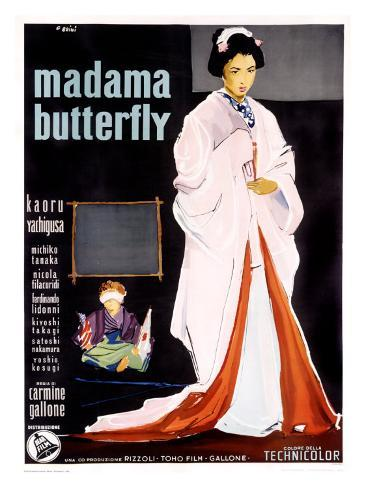 Madame Butterfly Giclee Print