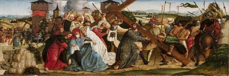 Christ Carrying the Cross, C.1500 Lámina giclée