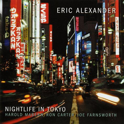 Eric Alexander - Nightlife in Tokyo Wall Decal