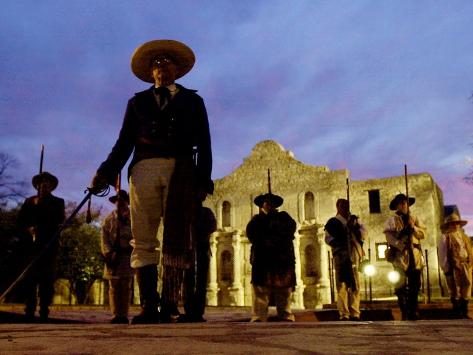 Alamo Memorial Service Photographic Print