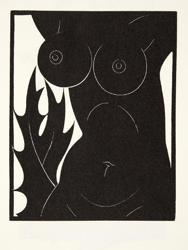 The Thorn in the Flesh, 1921 Lámina giclée