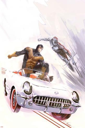 X-Men: First Class No.4 Cover: Beast and Iceman Poster