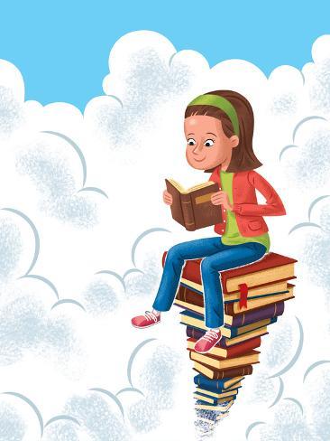 Books - Jack & Jill Giclee Print