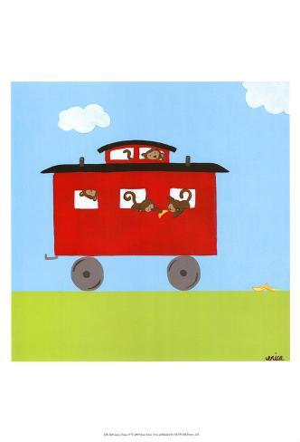 Circus Train IV Art Print