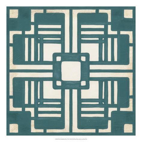 Deco Tile I Giclee Print