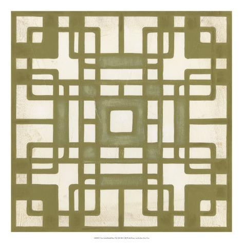 Deco Tile II Giclee Print