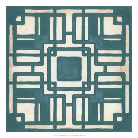 Deco Tile IV Giclee Print