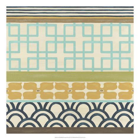 Geometric Frieze III Giclee Print