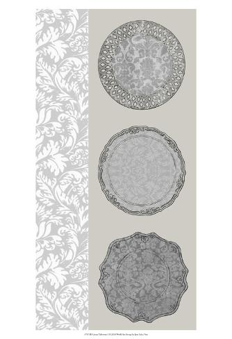 Linear Tableware I Art Print