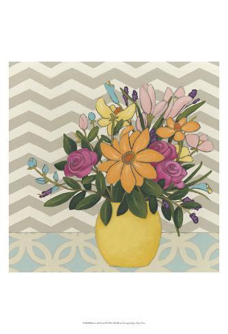 Patterns & Petals I Art Print