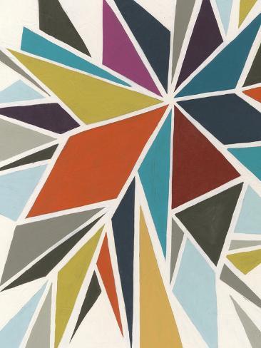 Pinwheel I Art Print