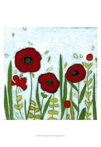 Precious Poppies I Art Print