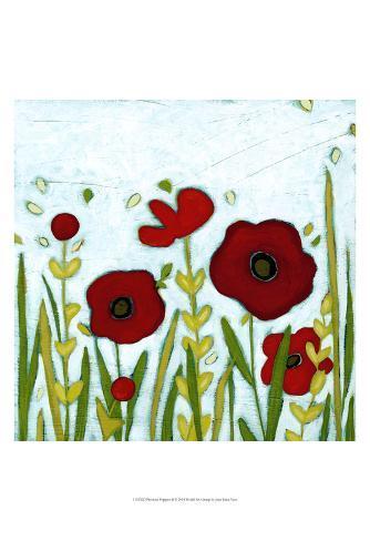 Precious Poppies II Art Print