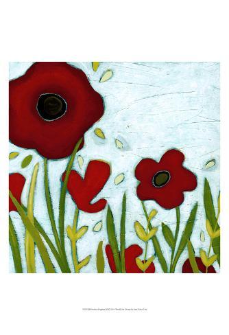 Precious Poppies III Art Print