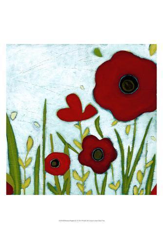 Precious Poppies IV Art Print