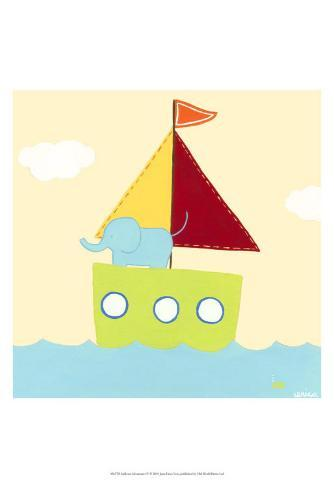 Sailboat Adventure IV Art Print