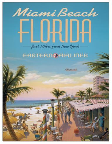 Erickson - Miami Beach Plåtskylt