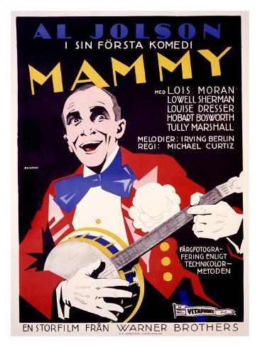 Al Jolson, Mammy Impressão giclée