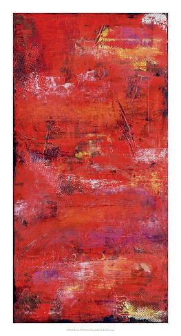 Red Door I Art Print