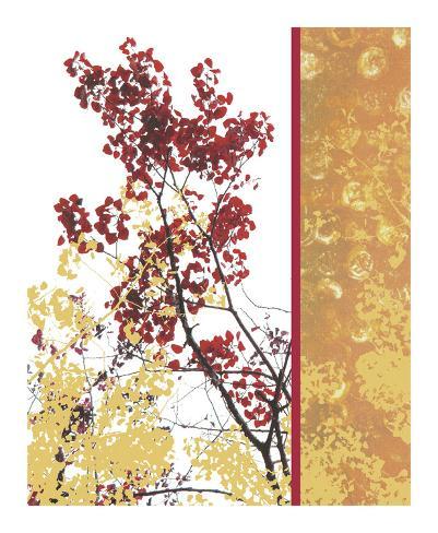 Autumn fresco giclee print by erin clark at for Clarks mural fresco boots