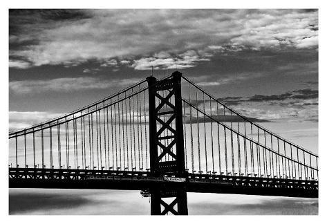 Benjamin Franklin Bridge Art Print