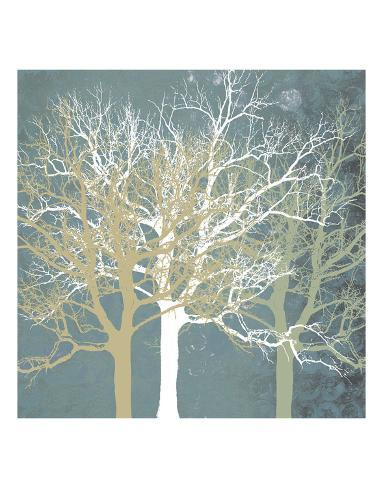 Tranquil Trees Art Print