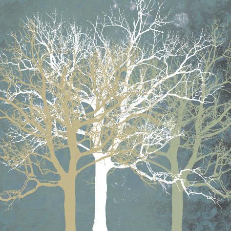 Tranquil Trees Art Print