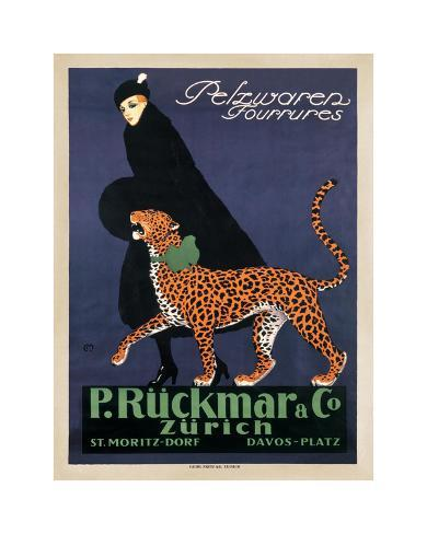 P. Ruckmar and Co., 1910 Giclee Print