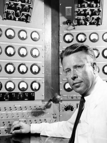 Ernest O. Lawrence, American Physicist and Nobel Laureate, 1950 Photo