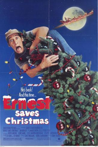 Ernest Saves Christmas Masterprint
