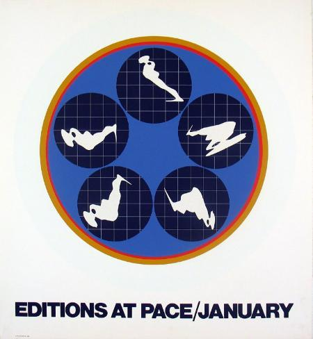 Editions at Pace, 1969 Serigraph