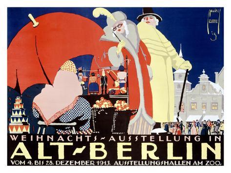 Alt-Berlin Giclee Print