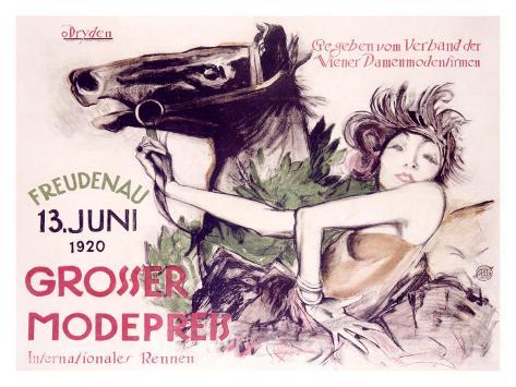 Grosser Mode Preis Giclee Print