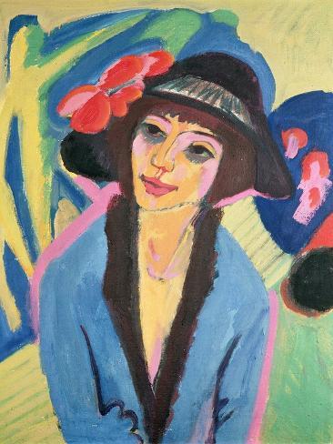 Portrait of Gerda Giclee Print