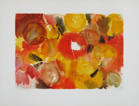 Yellow, Vermilion Collectable Print