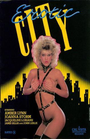 Erotic City Masterprint