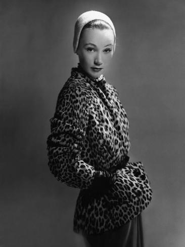 Vogue - December 1949 Photographic Print